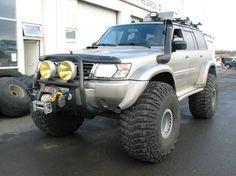 Big Foot Nissan Patrol Gr Y61 wagon Nissan Patrol Y61, Patrol Gr, Arctic, 4x4, Monster Trucks, Camping, Cars, Motorbikes, Campsite