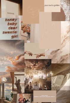 aesthetic brown cream collage desktop neutral soft iphone serenity wallpapers backgrounds luknav colorful