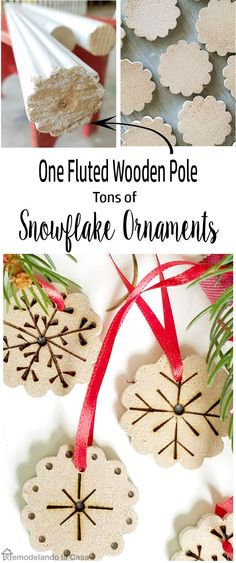 Handmade Christmas Ornaments - Upcycle