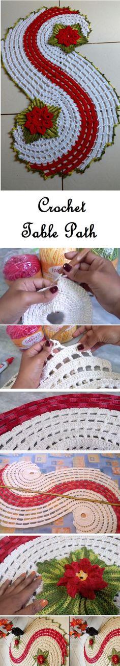 Crochet Table Path