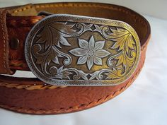 Western / Rockabilly Vintage Stainless steel with by BandAHeads, $25.00