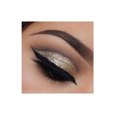 Eye Kandy Glitter in honey drop SF ($12) ❤ liked on Polyvore featuring beauty products, makeup, eye makeup and beauty