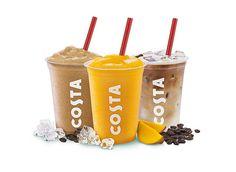 Roasted hazelnut cooler #COSTA | Our Menu | Pinterest | Coolers
