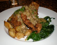 Chicken Fried Steak, The Country Cat, Portland, OR