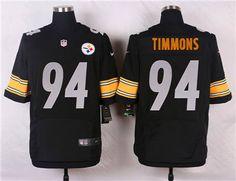 93918c19d Nike Pittsburgh Steelers  94 Lawrence Timmons Black Jersey Cameron Heyward