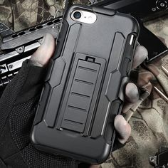 Military Hybrid Heavy Duty Iphone Case  iPhone 7 7 Plus