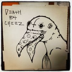 pizza box art