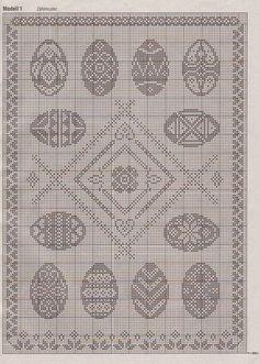 View album on Yandex. Easter Crochet Patterns, Doily Patterns, Craft Patterns, Filet Crochet, Crochet Motif, Crochet Doilies, Easter Tablecloth, Crochet Tablecloth, Cross Stitching