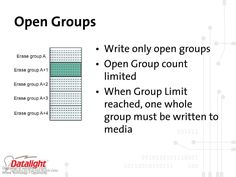 Open Group with EMMC