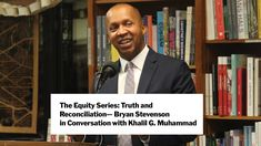 The Equity Series: Truth and Reconciliation – Bryan Stevenson with Khali... Bryan Stevenson, New York Public Library, Museum Of Modern Art, Moma, Muhammad, Art Education, Conversation, School, Fictional Characters