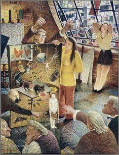 Auseklis BAUŠKENIEKS | Latvian | Jelgava, Latvia 1910—Riga, Latvia 2007.  Critique, 1977