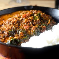 If you think you cannot be a vegetarian, then you have to try this recipe for Masala Lentils. This might be the best recipe I have created to date. There is so much flavor, so much depth in this dish. If you are a man like me, it is hard to imagine not eating meat. There is something very cave...