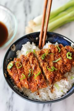 Tonkatsu (Japanese Pork Cutlet) - use arrowroot and gf bread crumbs - may not be as crunchy, but still tasty.