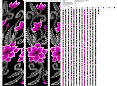 цветок розовы мотив тезина 22б 89р