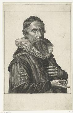 Jan Harmensz. Muller   Portret van Johan Fonteyn, Jan Harmensz. Muller, 1626   Portret van Johan Fonteyn, arts te Amsterdam.