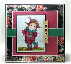 Calypso's Cards and Creations: Stamp and Create w/ Magnolia #17