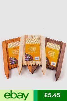 Trellises Garden & Patio #ebay Flower Bed Borders, Flower Beds, Wooden Trellis, Trellis Panels, Ebay, Patio, Garden, Garten, Wood Trellis