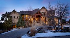 Extraordinary Property of the Day: Custom residence situated on a beautifully treed lot in Castle Rock, CO
