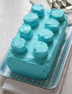 Lego Cake - cute, fun and easy to make!