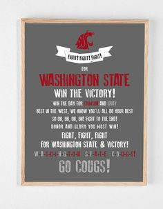 Image result for wsu fight song lyrics