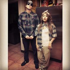 Chola n chulo Halloween outfits
