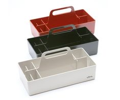 Style & Order: Vitra's Toolbox – Design & Trend Report Desk Caddy, Mobile Storage, Acrylic Plastic, Bench With Storage, Storage Design, Utensil Holder, Life Design, Wood Boxes, Tool Box