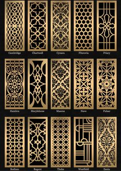Decorative paneling spaces traditional with decorative metal sheets decorative screen