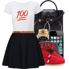 Untitled #1446, created by ayline-somindless4rayray on Polyvore