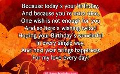 Girlfriend Birthday Quotes Inspirational Happy Birthday Quotes for Girlfriend Quotesgram Birthday Messages For Son, Birthday Quotes For Girlfriend, Girlfriend Quotes, Happy Birthday Images, Inspirational Happy Birthday Quotes, Best Birthday Wishes Quotes, Happy Birthday Wishes, Inspirational Quotes, Dating Quotes Just Started