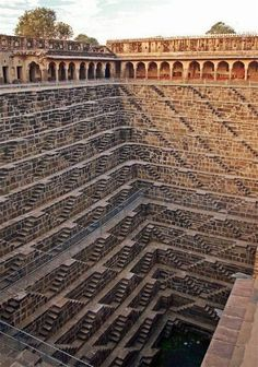 Deepest stairwall in Rajasthan, india