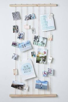 DIY photo hanging