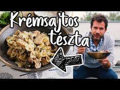 Krémsajtos tészta csirkével   Street Kitchen Cooking Together, Lidl, French Toast, Food And Drink, Chicken, Breakfast, Kitchen, Youtube, Beverages