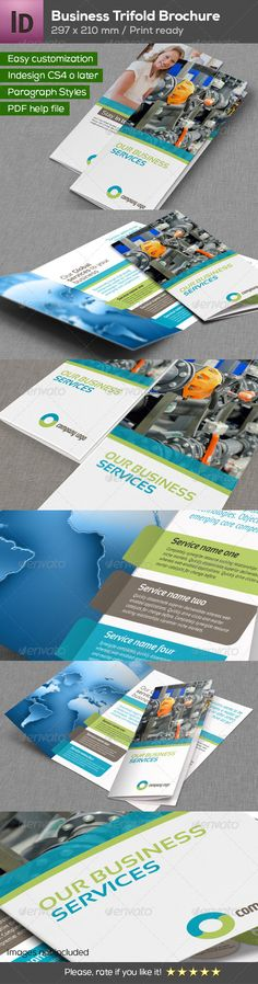 Business Trifold Brochure
