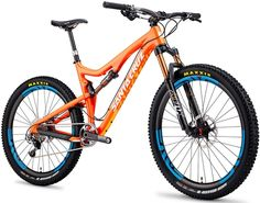 Santa Cruz Solo Carbon XT TR 650b Mountain Bike 2014