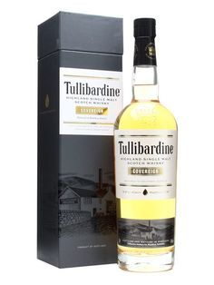 Tullibardine Sovereign / Bourbon Cask : Buy Online - The Whisky Exchange - A reinvigorated release from Tullibardine, upping the quality of presentation as well as their whisky. This bourbon barrel matured dram is packed with vanilla and spice.