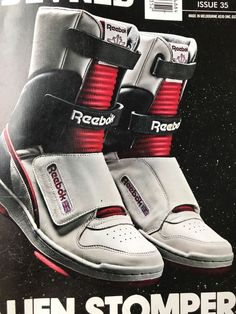 f7ab5c8628397f Rare 426 pairs worldwide Alien Stompers hi-tops Reebok authentic sneakers  Size10  fashion
