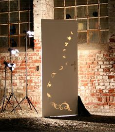 Light Emitting Doors for Your Home by Marisa Richter Turn Utility into Design.