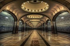 underground6 Metro Station – St. Petersburg, Russia