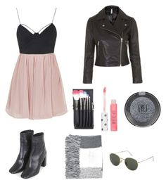 """""""Untitled #576"""" by hannahjoyjacob on Polyvore featuring Topshop, women's clothing, women, female, woman, misses and juniors"""