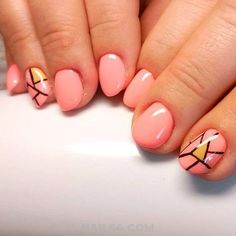 99 Best Classic Nail Art Designs Ideas You Must Have - Simple Nail Art Designs, Nail Designs Spring, Cute Nail Designs, Easy Nail Art, Love Nails, Fun Nails, Bright Nail Art, Modern Nails, Wedding Nails Design