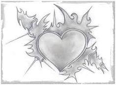 Resultado de imagen para corazones a lapiz