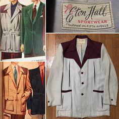 Rockabilly Clothing, Rockabilly Outfits, Rockabilly Fashion, Retro Fashion Mens, Men's Fashion, Vintage Fashion, 50s Outfits, Vintage Outfits, 50s Style Men