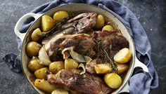 Nigel Slater's light version of a traditional lamb hotpot.