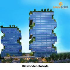 Biowonder-India, Kolkata  Designed by #Eversendai, #Biowonder in #Kolkata is the first #Biophilic #corporatepark of #India with office spaces that provide an increased exposure to #nature through ample #naturallight, #air, #greenery and #water in addition to utilizing #natural measures for #building acclimatization to reduce #energy consumption.