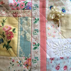 HenHouse: Fabric... and French or maybe Fondant Fancies