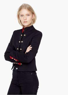 Donna Cappotto Nel 2018 Abbigliamento Militare Pinterest Stile waqaCF0T