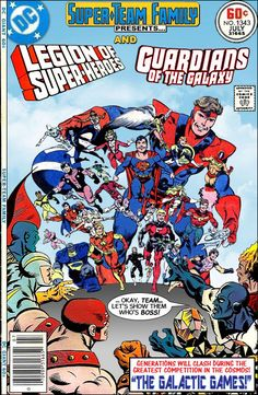Super-Team Family Legion of Superheroes and Guardians of the Galaxy Dc Comic Books, Comic Book Covers, Comic Book Heroes, Comic Art, Gi Joe, Dc Comics Vs Marvel, War Comics, Marvel And Dc Crossover, Legion Of Superheroes