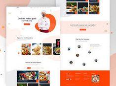 restaurant web ui design - Google Penelusuran Restaurant Website Design, Restaurant Website Templates, Website Company, Blog Design Inspiration, Web Ui Design, Show And Tell, Say Hi, Website Designs, Bugs
