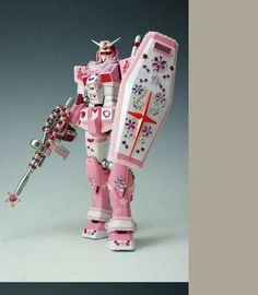 Glittery Action Figures  Macho Gundam Toys Turn Pink and Pretty for Female Fans  http://www.trendhunter.com/trends/gundam#!/photos/45803/6