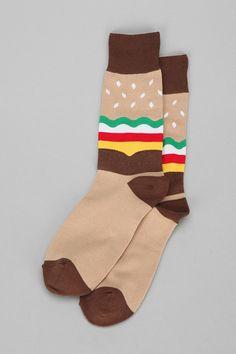 Sock it to Me Burger Sock